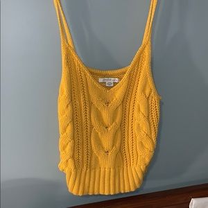 Cropped American Eagle Tank